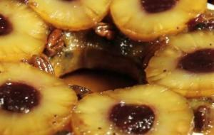 Modern Upside Down Pineapple Cake