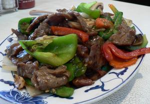 Roast Beef Chili Salad