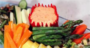 Red Bell Pepper Sweet Dip