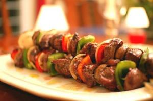 Chicken Liver Kebabs