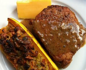 Pork Roast With Gravy