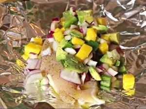 Mango Salsa Chicken