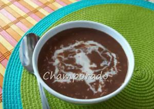 Chocolate Rice Porridge