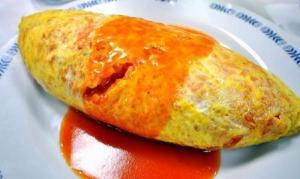 South western Omelette Wrap