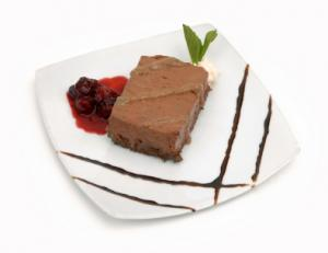Chocolate Sponge Pie