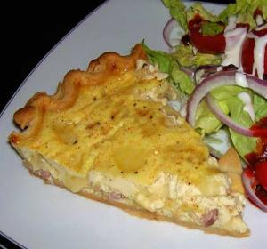 Easy Ham 'n Swiss Pie