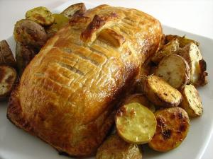 Fillet Of Beef En Croute