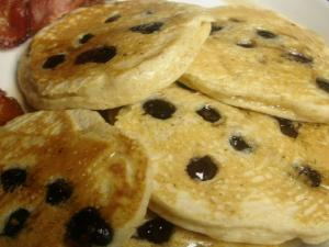 Mount Adams Huckleberry Hotcakes