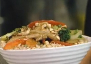Stir Fried Chicken with Peanuts