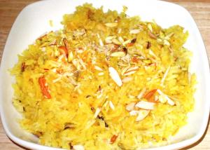 Indian Saffron Rice