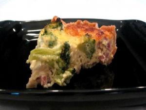 Lynn's Ham and Broccoli Quiche