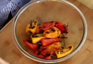 Spicy Grilled Baby Peppers