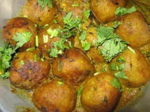 Curried Beef Balls