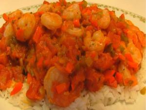 Betty's Saucy Shrimp Creole