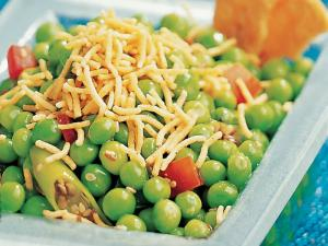 Mutter Chaat Low Cal Snack By Tarla Dalal
