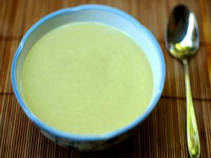 Raw Cream of Celery Soup