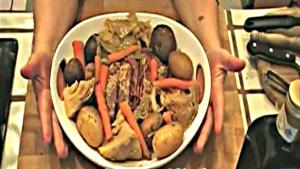 Corned Beef Boiled Dinner in the Crock-Pot