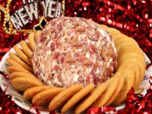 Bacon Cheese Ball - Happy New Year
