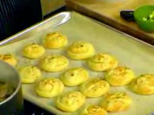 Mushroom Ragout with Garlic Chive Sauce