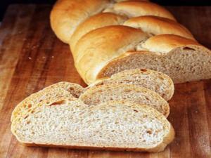 Three-Wheat Batter Bread