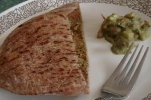 Pear Salad Dressing, Catfish Rub And Falafel Sandwich