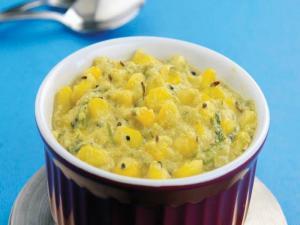 Corn ki Subzi by Tarla Dalal