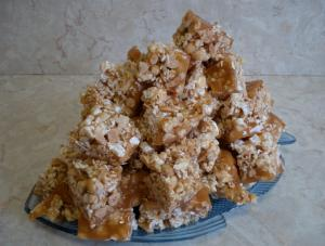 Peanut And Popcorn Crunch Snack