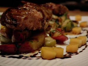Sauteed Foie Gras with Apples and Shallots