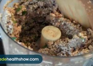 Almond Olive And Sesame Falafel