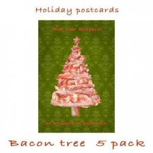 Bacon Christmas Card