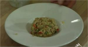 Risotto Style Barley and Tomato
