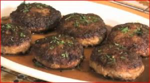 Beef Pork Patties