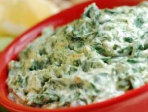 Vegan spinach dip, creme brulee & butter tarts