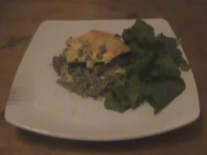 Fast Pesto Lasagne