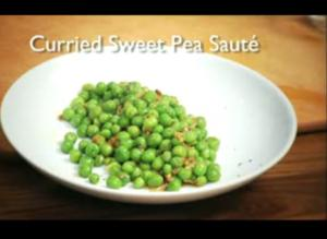Curried Sweet Pea