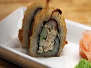 How to Make Sushi - Tempura Sea Chicken Rolls