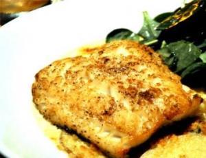 Baked Sea Bass