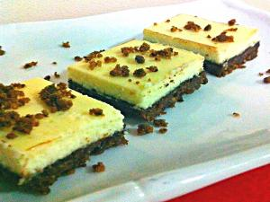 Mocha Chocolate Cheesecake Squares