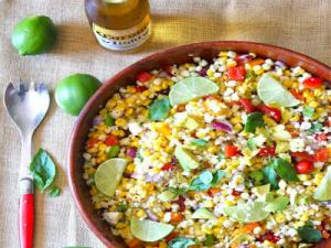 High Raw Mexican Summer Salad