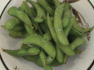 Edamame (Soybeans in the pod)