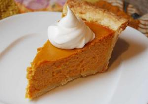 Lemon Pumpkin Pie
