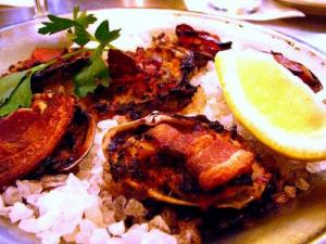 Broiled Clams