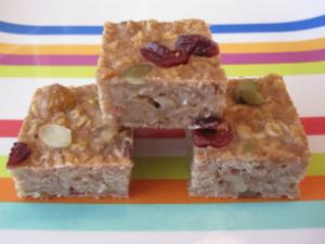 Oatmeal Bars On-The-Go