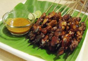 Barbecued Beef Satay