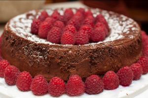 Carob Honey Cake