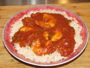 Microwave Shrimp Creole