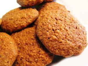 Sesame Oat Cookies