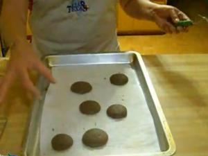 Real Texas Peppermint Sandwich Cookies part 2 of 5