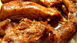 Saucy Lamb Riblets