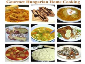 Hungarian Gourmet Cooking Samples